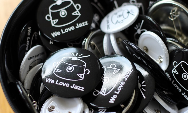 We Love Jazz Pin Badges
