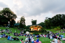 Concert at Singapore Botanical Gardens