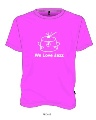 WLJ LOGO PINK (MEN'S & WOMEN'S)